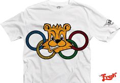 Image of Freshlympic T-Shirt in White (Limited Edition)
