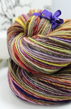 RESERVED for Rose Petal Collections Handspun by SheepingBeauty, $36.00