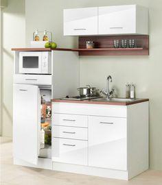 designLINE Schrankküche | Büroküche | Miniküche in Sommerfarben ... | {Schrankküche büro 31}