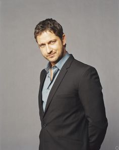 Gerard Butler <3  He photographs so nicely, it always feels like he's looking at me.