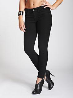 Sophia Mid-Rise Curvy Skinny Jeans | GUESS