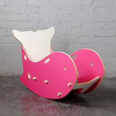 Designing a nautical themed nursery or kids room? Your little ones will love this little rocker, and you will love how it complements your modern design.