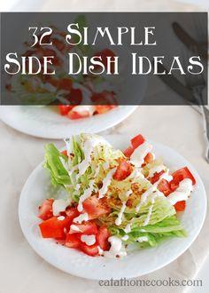 32 Simple Side Dish Ideas