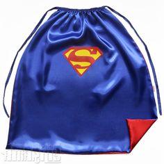 Capa Infantil Super-Homem