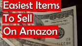 Easiest Items to Sell on Amazon for a Profit