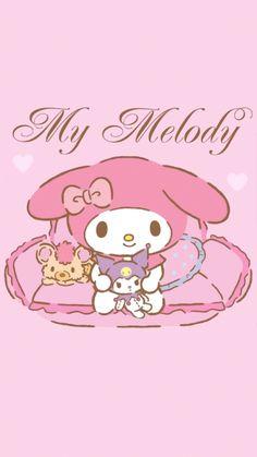 My Melody Wallpaper, Sanrio Wallpaper, Kawaii Wallpaper, Sanrio Characters, Fictional Characters, Hello Kitty Images, Little Twin Stars, Bunny, Cute
