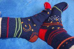 Ravelry: maikinchen's love & socks in space