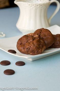Chocolate Souffle Cookies