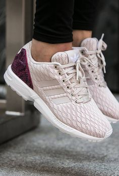 cbb585211e97 adidas ZX Flux  Pearl Grey  (via Kicks-daily.com) Heeled