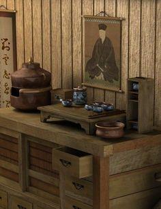 "iseo58:  ""Tea House - the Chanoyu - Way of Tea set  """
