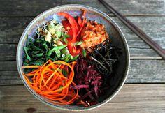 Wholehearted Eats : Macro Bowl Double Take {Raw & Cooked}