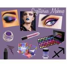 """Sagittarius Makeup"" by bhcosmetics on Polyvore"