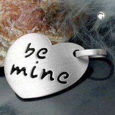 Anhänger, Herz -be mine- Silber 925 accessorize24-90624