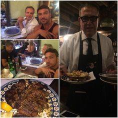 #CostantinoVitagliano Costantino Vitagliano: Bistecca alla fiorentinabuona cena... #trattoria13gobbi #firenze #dinner #friend