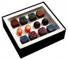 Araya Artisan Chocolate Store - LIQUOR COLLECTION, $28.00 (http://www.arayachocolate.com/products/LIQUOR-COLLECTION.html)