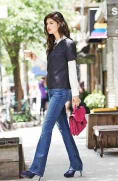 How To Wear: Boot Cut Jeans (nordstrom Jean Lookbook)