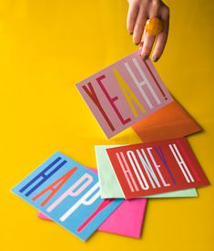 Cards by Maddy Nye for SHIP & SHAPE via Design Love Fest!