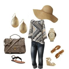 summertime, created by jazzeminne on Polyvore