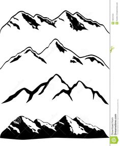 1000+ ideas about Mountain Drawing on Pinterest | Mountain Sketch ...