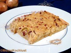 Meine Kochlust  Zwiebelkuchen - Onion cake