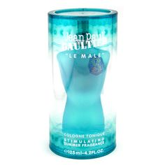 Le Male by Jean Paul Gaultier for Men - oz Cologne Tonique Spray (Stimulating Summer Fragrance)