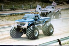 USA-1 is an iconic monster truck but he usually came up short when Bigfoot was around.