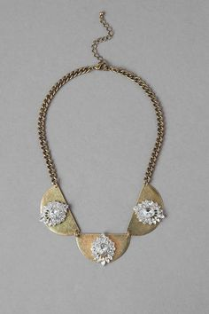 Calgary Crystal Statement Necklace