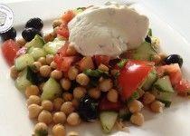 Fitness Dessert.de Kichererbsensalat Vegane Sour Cream 02 210x150 Kichererbsen Salat mit Veganer Sour Cream