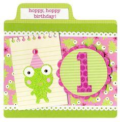 Doodlebug's Hoppy, Hoppy Birthday - Scrapbook.com