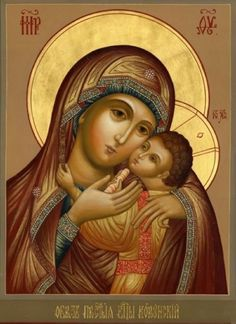 """Russian Icon """" Kazan Mather of God """" - Consecrated"""