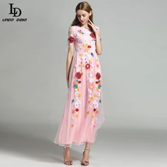 Women Maxi Dress Long Sleeve Party Wear Floor Length Floral Printing Long Dress Like and share this pure awesomeness! http://www.storeglum.com/product/ld-linda-della-2016-new-fashion-women-maxi-dress-long-sleeve-party-wear-floor-length-floral-printing-long-dress #shop #beauty #Woman's fashion #Products