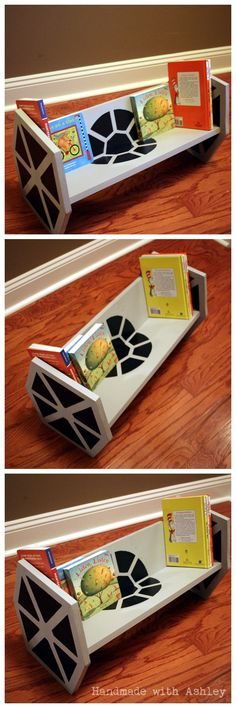 How To Build A Star Wars TIE Fighter Bookshelf (Tutorial