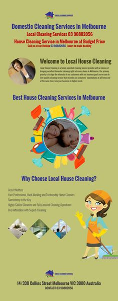 Local House Cleaning is a family-operated cleaning service provider