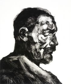 Alison Lambert | Pratt Contemporary Art | 60x50cm Modern Art, Contemporary Art, Charcoal Art, A Level Art, Black And White Drawing, Human Art, Chiaroscuro, Portrait Art, Graphic Design Illustration