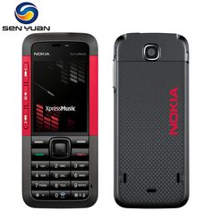 Unlocked 5310 Original Nokia 5310 XpressMusic Bluetooth Java MP3 Player Russian Keyboard support cheap cell phone  Price: 46.99 & FREE Shipping #computers #shopping #electronics #home #garden #LED #mobiles #rc #security #toys #bargain #coolstuff |#headphones #bluetooth #gifts #xmas #happybirthday #fun Cell Phone Prices, Cell Phone Reviews, Cheap Cell Phones, Russian Keyboard, Refurbished Phones, Nokia 1, Instant Messaging, Display Resolution, Types Of Cameras