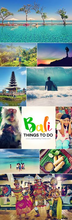 10 Top Things To Do In Bali Indonesia | Feeling overwhelmed with planning your Bali itinerary?! Here is my personal travel guide for you, with tips on things to do and where to stay in Bali... | via @Just1WayTicket