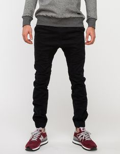 Sureshot Chino In Black