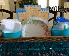 Baby shower beach theme.