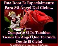 Para mi angel en el cielo