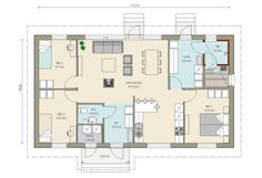 Bungalow, My Dream Home, Sweet Home, Floor Plans, Flooring, How To Plan, Living Room, House Ideas, Play