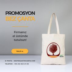Promosyon bez çanta ile firmanız el üstünde tutulur! Tasarımınızı veya logonuzu destek@istecanta.com mail adresine ileterek en uygun fiyatlarla sipariş verebilirsiniz. #bezcanta #beztorba #promosyon #tanitim #reklam #toptan #totebag