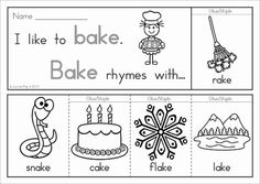 Rhyme Time - Flip Books {Long Vowels} 27 flip books in color and black and white. Each booklet only uses on piece of paper; great paper saving alternative to the traditional readers! Get this booklet FREE when you download the preview.