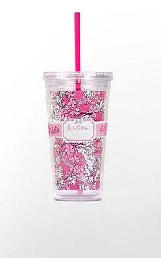 Lilly Pulitzer - Alpha Phi....Great for tea on the way to class!