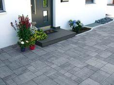 Vorgarten Pflegeleicht Садовые - Leichte terrassenplatten