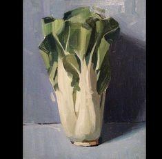 "Brian Astle on Instagram: ""Bok Choy!!!!! What should I paint next?"" Vegetables, Still Life, Glass Vase, Painting, Instagram Posts, Inspiration, Home Decor, Art, Biblical Inspiration"