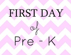 First Day of School Signs Free printable PreK - 12th