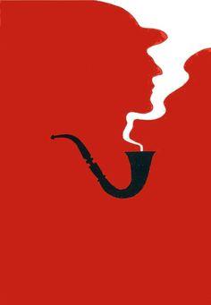 Sherlock Bbc, Sherlock Holmes Tattoo, Sherlock Pipe, Sherlock Holmes Book, Baker Street, Concept Art Tutorial, Cool Optical Illusions, Detective, Minimalist Poster