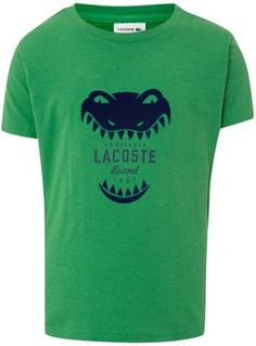 Lacoste Boy`s short sleeve croc teeth t-shirt on shopstyle.co.uk