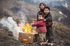 O sorriso dos refugiados da Síria...