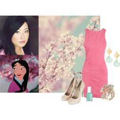 """Disney Dreamcast Mulan"" by natihasi on Polyvore"